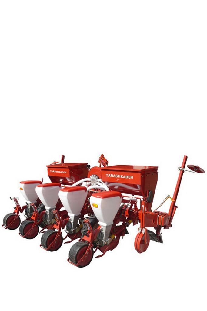 رديف کار پنوماتيک با کودکار درشت دانه کار (آتشکده)