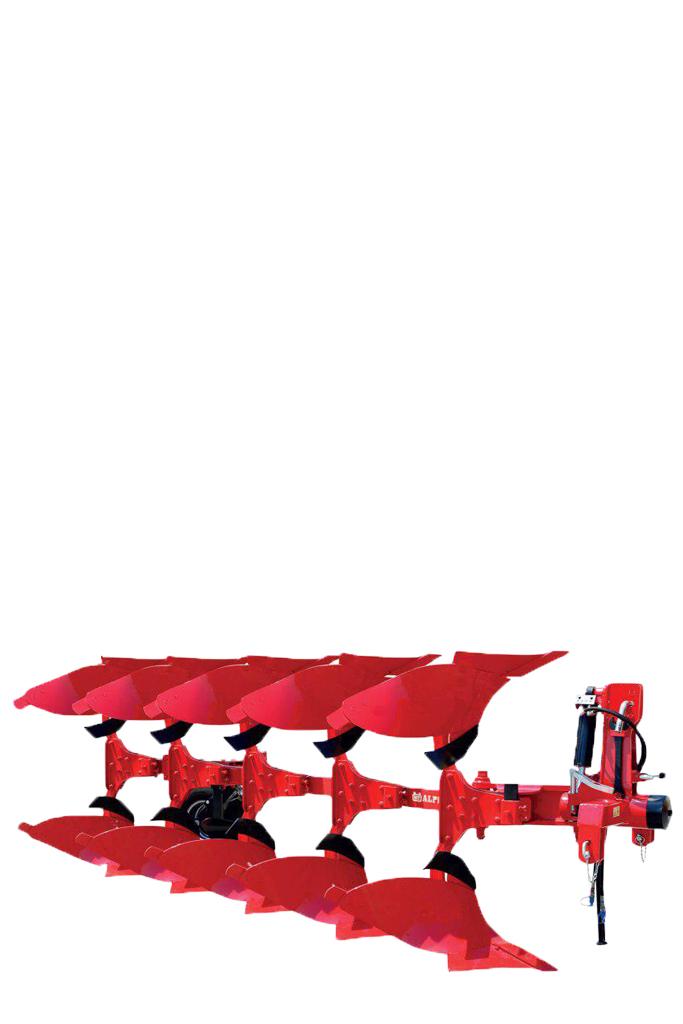 گاوآهن های دوطرفه آلپلر ساخت ترکیه با قابلیت تنظیم عرض کار بین 12 ، 14 و 16 اینچ