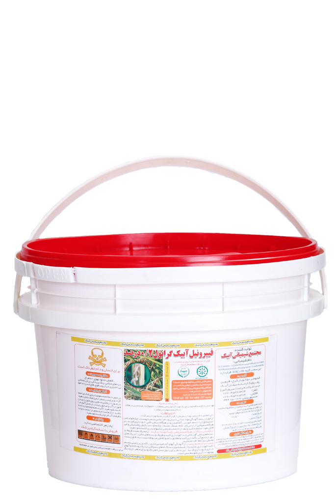 سم فیپرونیل آبیک گرانول2% «سطلی»