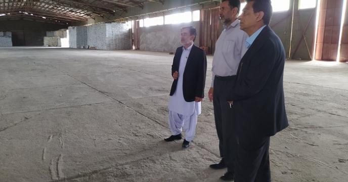 بازدید از انبار کارگزار در شهرستان خوسف