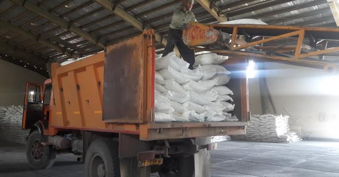 تأمین و توزیع 35 تن کود سوپر فسفات تریپل در شهرستان کرج