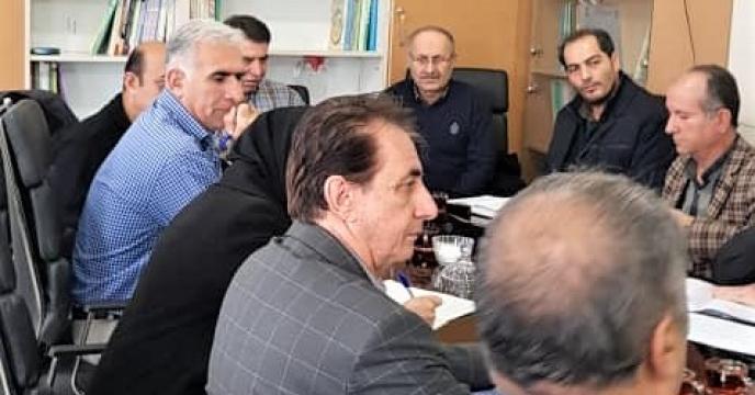 جلسه ستاد کود استان آذربایجان غربی