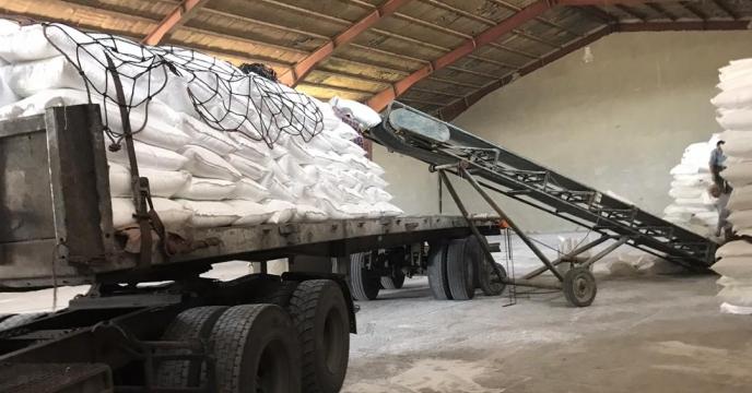 تامین و ارسال مقدار 545 تن انواع کودهای شیمیایی به شهرستان  چایپاره