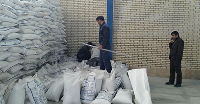 نمونه برداری از کودهای شیمیایی در خراسان جنوبی
