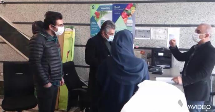 بازدید کارشناس مدیریت پایش شرکت از کارگزاری های استان البرز