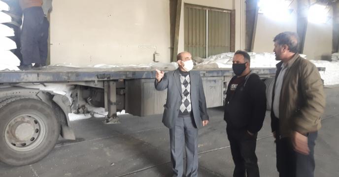 بازدید مدیر استان از انبارهای سازمانی