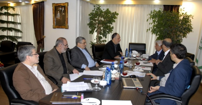 گزارش تصویری از جلسه هیئت مدیره شرکت خدمات حمایتی کشاورزی