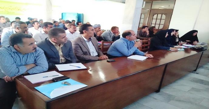 تجلیل از کارگزار نمونه در استان آذربایجان غربی