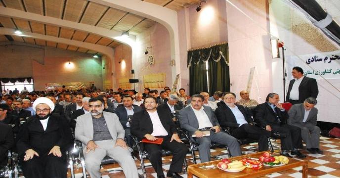 گزارش تصویری از همایش  کشت پاییزه با محوریت مکانیزاسیون و نهاده های کشاورزی استان فارس و نمایشگاه جانبی