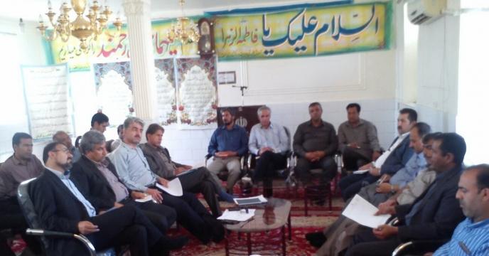 جلسه ستاد گندم در شهرستان ارزوئيه استان كرمان