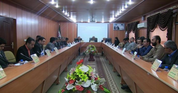 گردهمایی مسئولین امور مالی شرکت خدمات حمایتی کشاورزی در استان لرستان