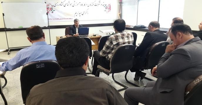 دوره آموزشی هواشناسی کشاورزی در استان قم برگزار شد