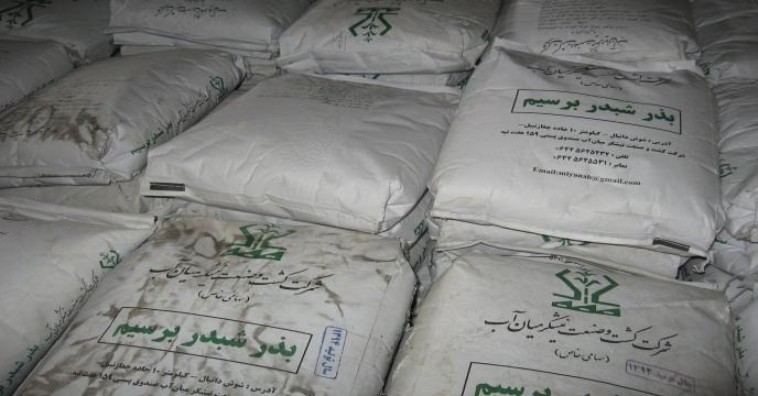 توزیع بذر شبدر برسیم در استان مازندران به 317 هزار کیلوگرم رسید.