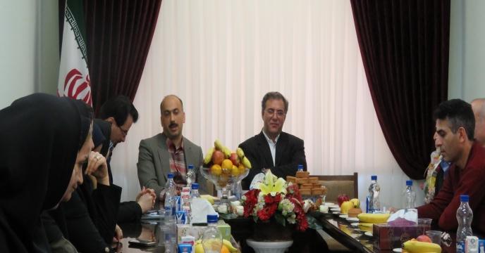 بازديد جناب آقاي دكتر شورج ، قائم مقام مديرعامل از شركت در استان گيلان