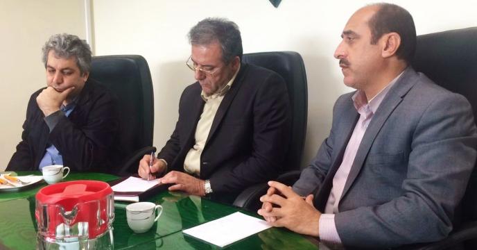 بازديدجناب آقای دکتر  شورج قائم مقام  مدیر عامل از شركت در استان البرز