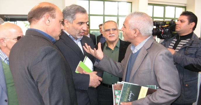 افتتاحیه نمایشگاه ماشین آلات و ادوات و نهاده های کشاورزی در خراسان رضوی