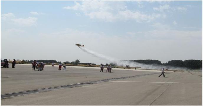 تغییر رویکرد شرکت هواپیمایی خدمات ویژه به غیر از سمپاشی/ هواپیماییهای کشاورزی شبیه تراکتور عمل میکنند