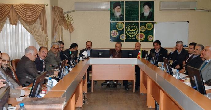 برگزاری جلسه شورای مدیران جهادکشاورزی استان گیلان با حضور مدير شركت خدمات حمايتي كشاورزي