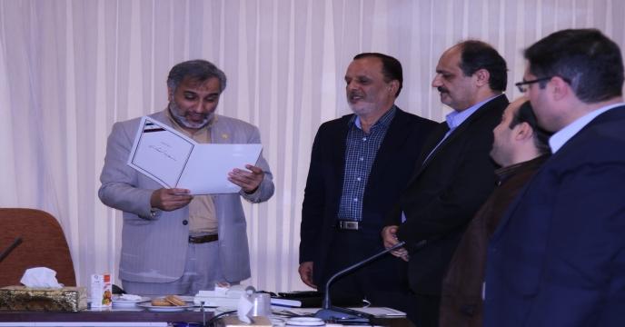 آقای مهندس عباس ارشدی بعنوان فرمانده بسیج شركت منصوب شدند