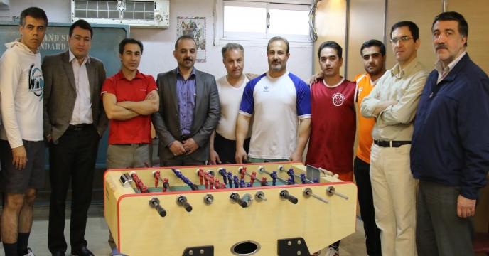 مسابقات ورزشی سالنی به مناسبت ایام الله 22 بهمن برگزار شد