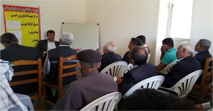 گزارش تصویری از برگزاری کارگاه آموزشی مصرف بهینه کود ماکرو در بندرعباس