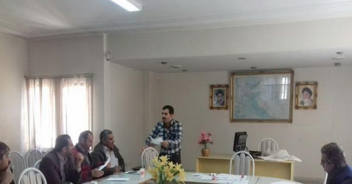 کارگاه آموزشی نمونه برداری از كودهای وارداتی برگزار شد