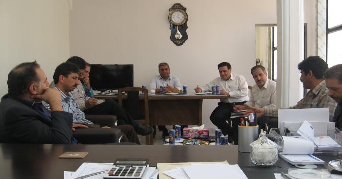 برگزاری اولين جلسه شورای اداری و هماهنگی در سال1395 در ايلام