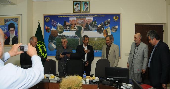 بازدید مدیرعامل محترم شرکت از استان آذربايجان شرقی