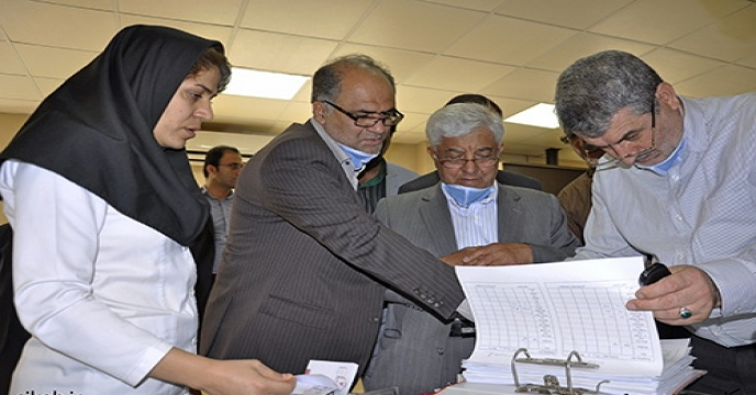 بازديد معاون محترم وزير از كارخانه های توليد كود شيميايی در استان بوشهر