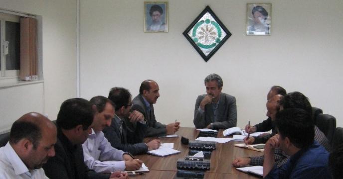 برگزاری جلسه کمیته فنی بذر