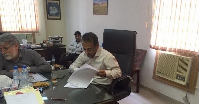 گزارش تصویری از جلسه بازگشایی پاکات مناقصه