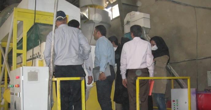 بازدید آموزشی از سایت بوجاری استان البرز