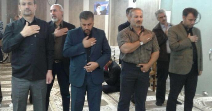 مراسم عزاداری حضرت اباعبدالله الحسین (ع) در شركت خدمات حمایتی كشاورزی