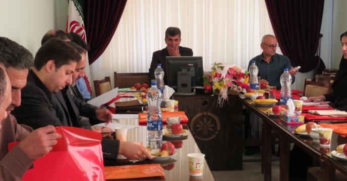 گردهمایی مدیر شرکت با مسئولین و کارشناسان مراکز خدمات جهاد کشاورزی شهرستان رشت