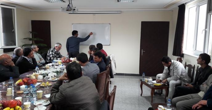 كارگاه آموزشی نمونه برداری خاك در تبريز