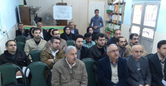 آموزش كاربردی مصرف بهینه نهاده ها و  باشگاه کشاورزان در استان گيلان