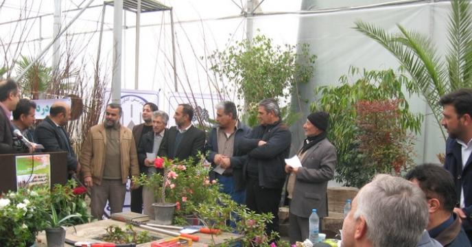 کارگاه آموزشی ويژه باغداران شهرستان ساوجبلاغ با حضور مسئولين بخش كشاورزی استان البرز