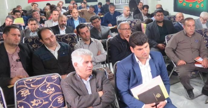 برگزاری نشست آموزشی نهاده های غیرتکلیفی در استان مازندران
