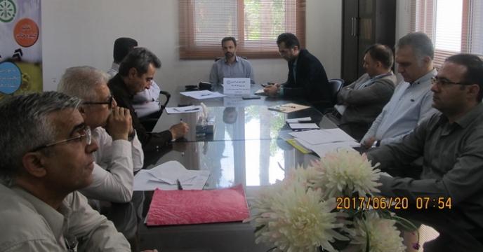 گزارش جلسه شورای اداری شركت خدمات حمايتی كشاورزی استان گلستان