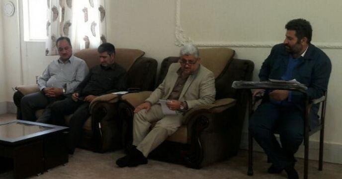 جلسه شوراي هماهنگي اداري در شركت خدمات حمايتي كشاورزي لرستان