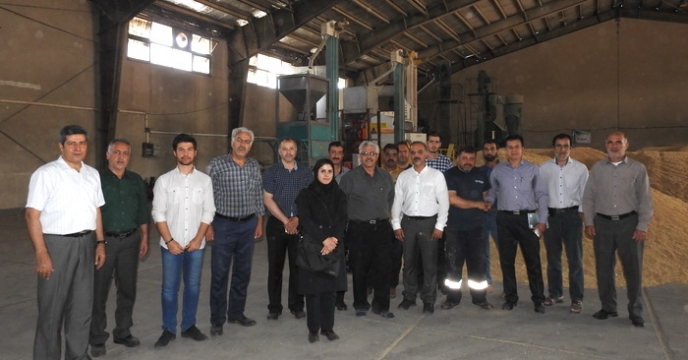 دوره آموزشی دستگاه های گراويتی پروسس بذر در استان البرز