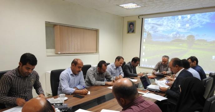 برگزاری جلسه کمیته فنی بذر استان البرز در شرکت خدمات حمایتی کشاورزی