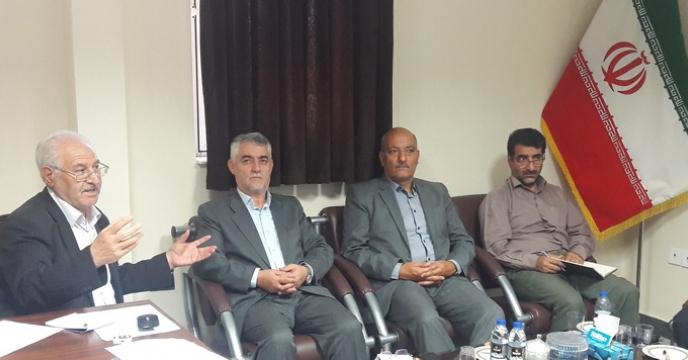 جلسه توجیهی  کارگزاران در خصوص نحوه توزیع نهاده های کشاورزی در تبریز