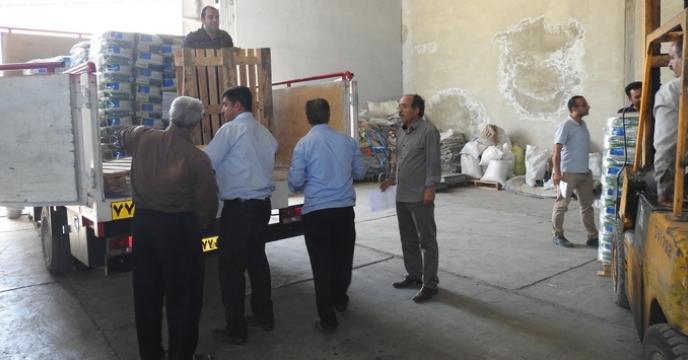 عملیات ارسال بذور کلزای زمستانه به استانهای هدف