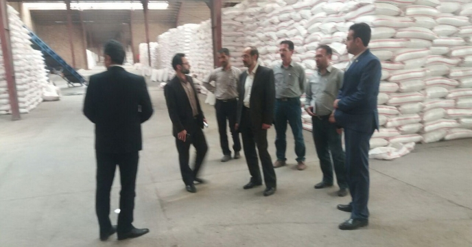 گزارش سفر سید سعید ایزدی سرپرست محترم طرح  و برنامه شرکت خدمات حمایتی کشاورزی به استان گلستان