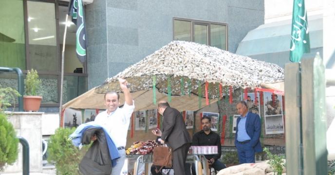 برگزاری مراسم پر فیض زیارت عاشورا و گرامیداشت هفته دفاع مقدس در ستاد شرکت