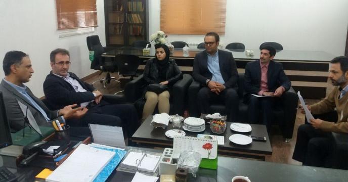 جلسه هم اندیشی با شرکت تولید کننده کود آلکان در استان گلستان