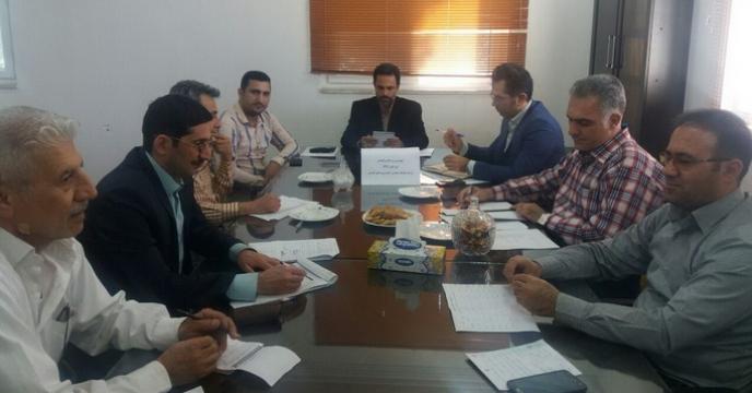 هفتمین جلسه شورای اداری شرکت خدمات حمایتی کشاورزی در استان گلستان