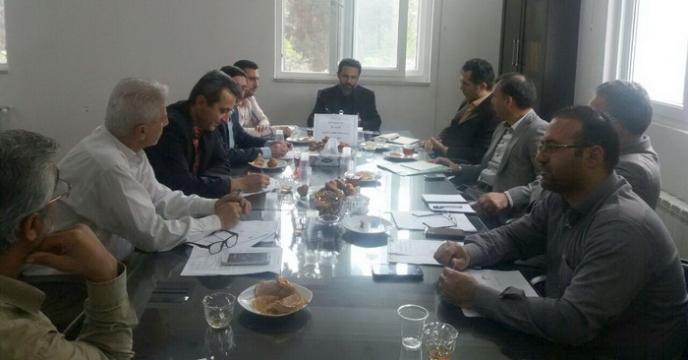 جلسه شورای اداری در گلستان