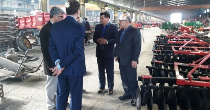 سفر 2 روزه آقای  دکترامیدی مدیر امور ماشین آلات شرکت خدمات حمایتی کشاورزی به استان خراسان رضوی: